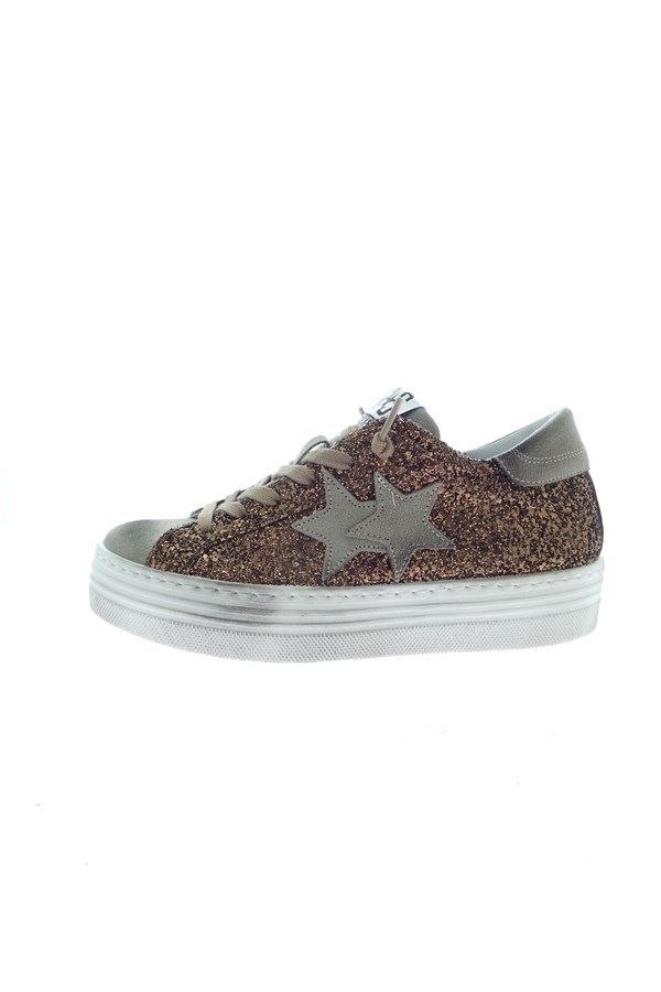 2 Star Sneakers Bronze
