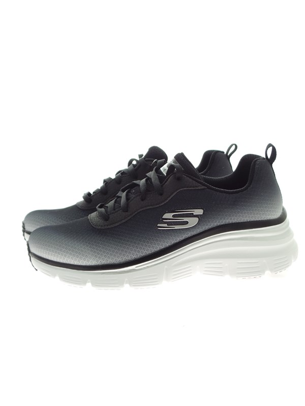 Skechers 12717 Black Shoes Woman