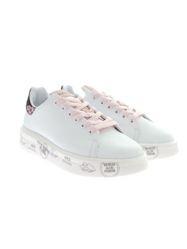 Premiata BELLE 5147 White Shoes Woman