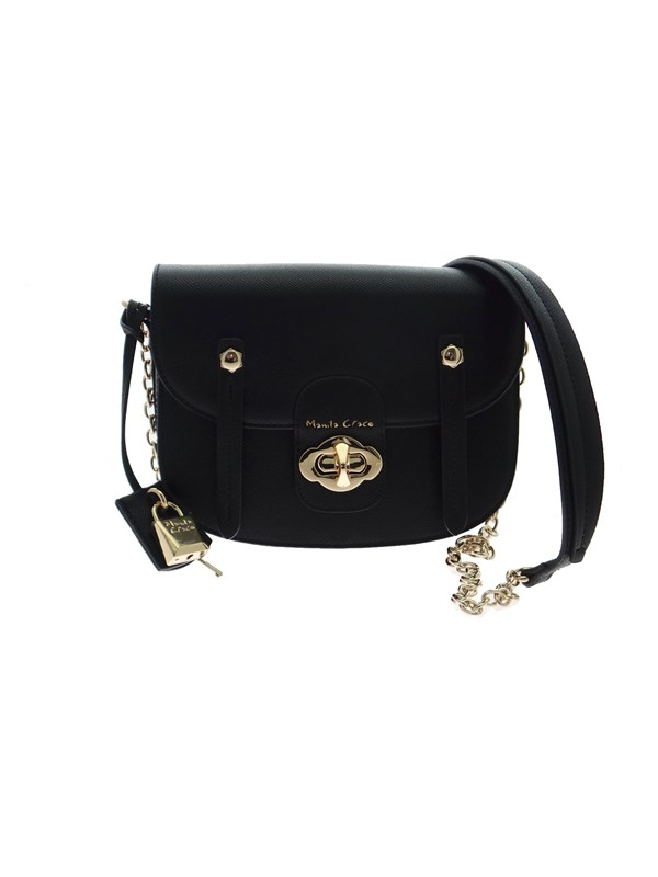 Manila Grace POPPY Black Accessories Woman